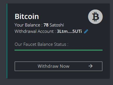 Firefaucet Bitcoin Transaction to Faucethub