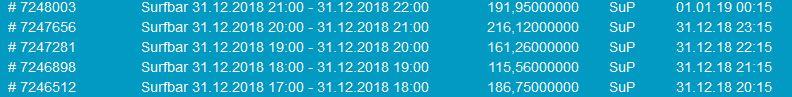 Coinsurfer SuP per hour